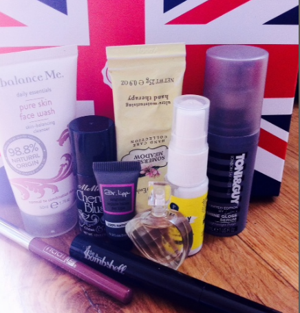 Glossybox beauty products
