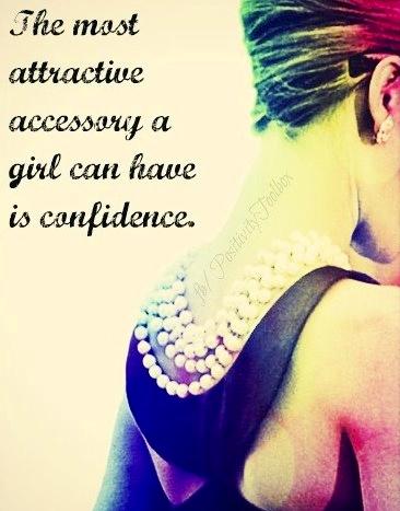 attractive accessory confidence
