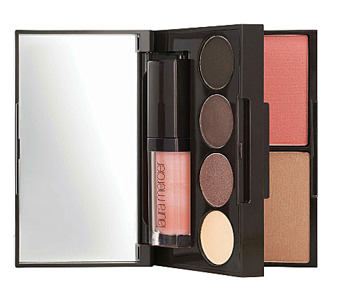 Laura Mercier Colour To Go Portable Palette for Eyes, Cheeks and Lips