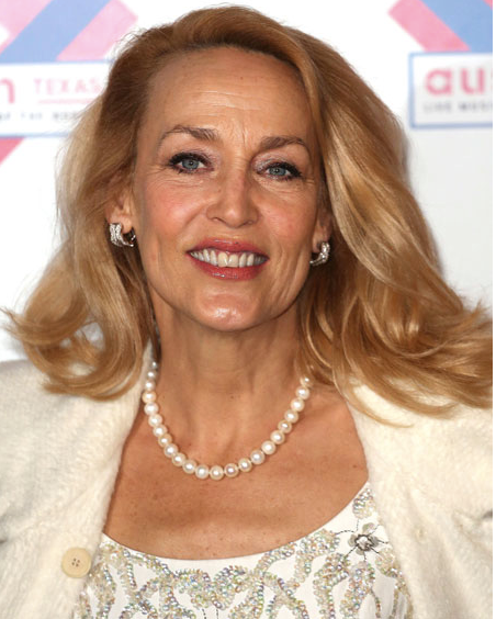 Jerry Hall lead photo