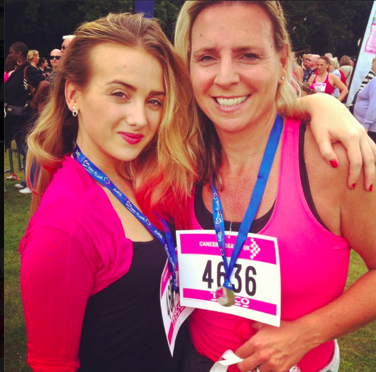 Me and Aimee at Race for Life