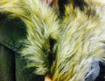 Faux Fur Parka