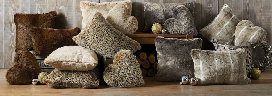 Faux Fur Cushions from £14
