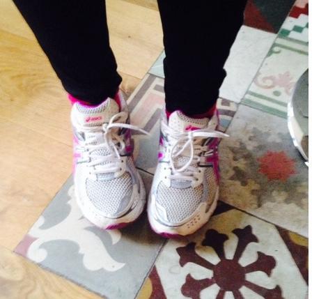 jogging feet
