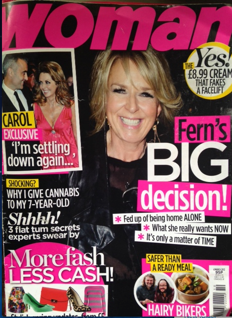 woman mag cover