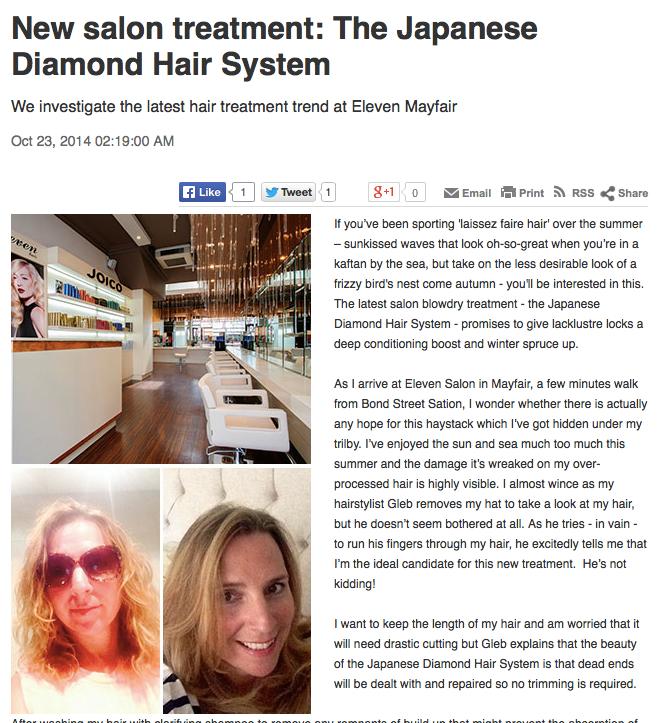 japanese diamond hair syste