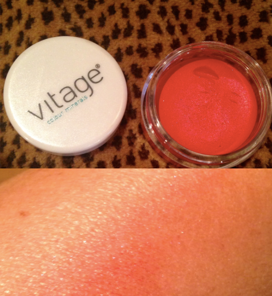 vitage colour minerals blush pot