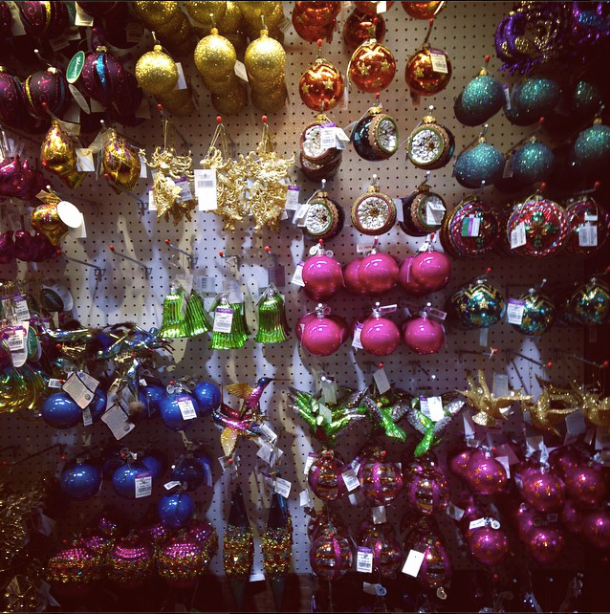 Liberty xmas baubles