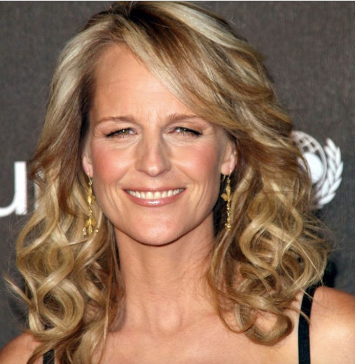 Helen Hunt long hair