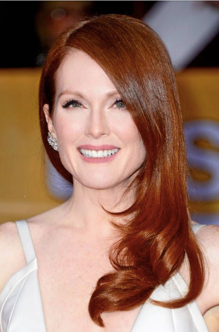 Julianne Moore long hair