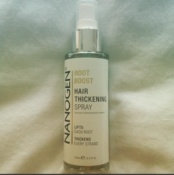 Nanogen hair thickening spray