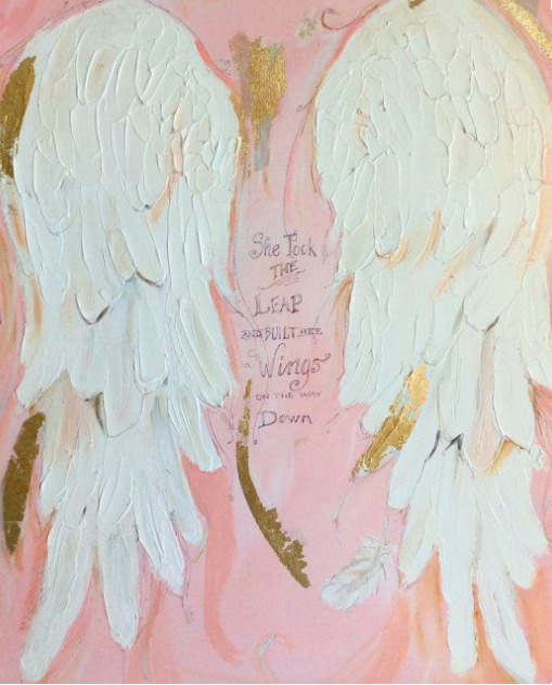 Angel_wing_Painting