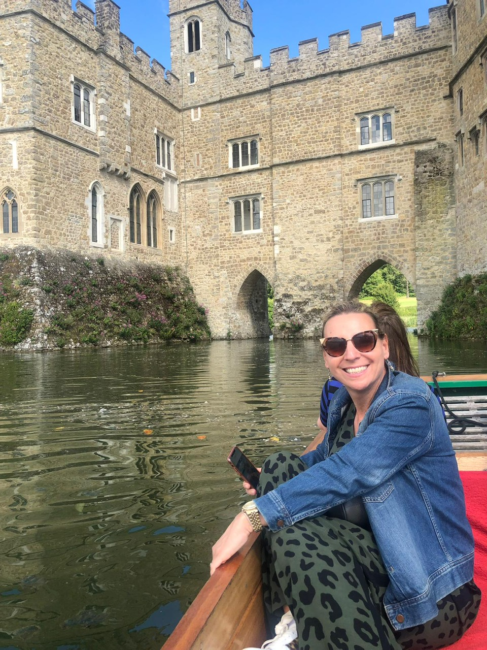 punting at Leeds Castel